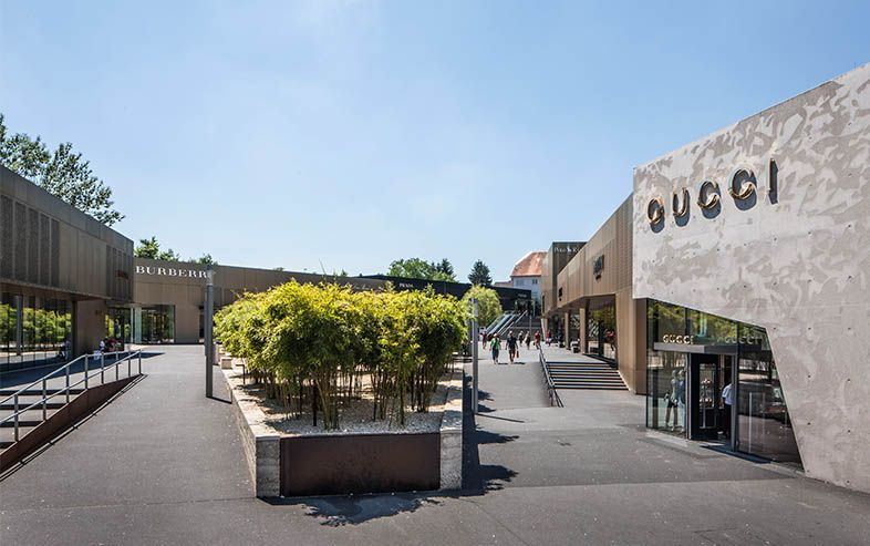Outlet-Center in Metzingen (Cityoutlet)