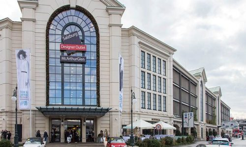 Outlet-Center in Salzburg (McArthurGlen)