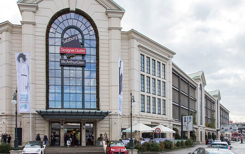 Outlet-Center in Salzburg (McArthurGlen Designer Outlet)